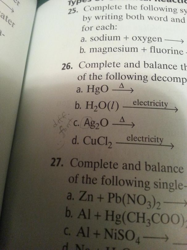 Going Through My Chemistry Textbook When I Found This. Who Is This Observant?