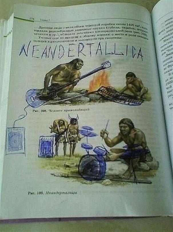 Neandertallica!