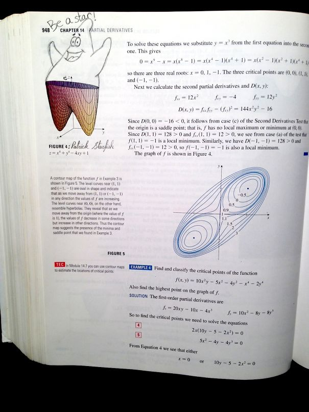 Leaving A Gem In A Calculus Book