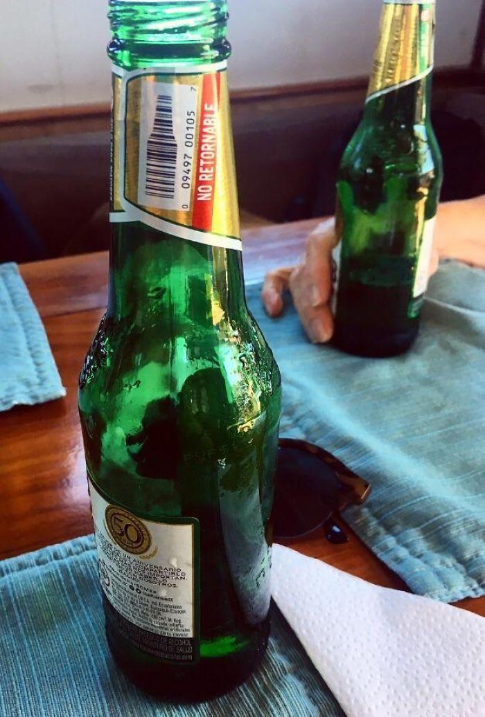 Beer Bottle Barcode Is A Beer Bottle.