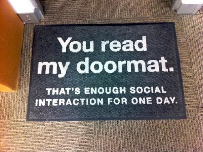 Creative Door Mat