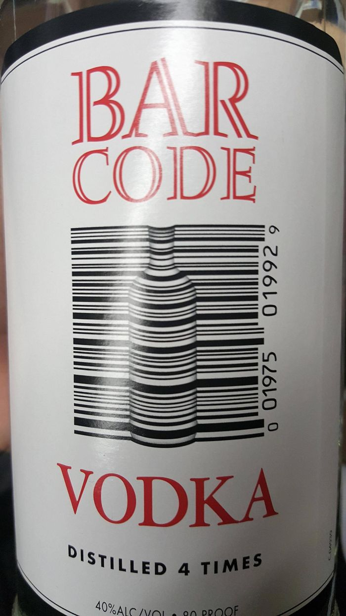 Barcode Vodka