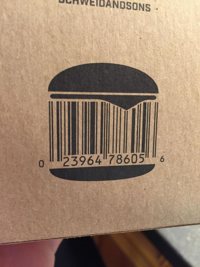 This Is A Tasty Barcode
