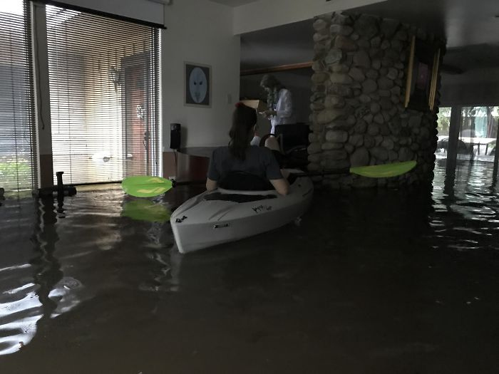 My House In Meyerland During Harvey