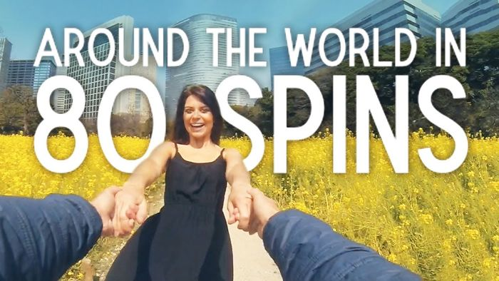 We Spun Around The World