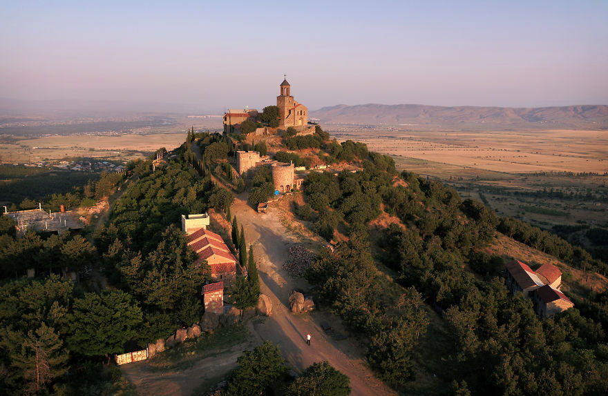 The Shavnabada Monastery, Near Tbilisi