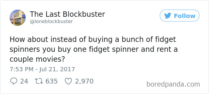 The Last Blockbuster Tweets