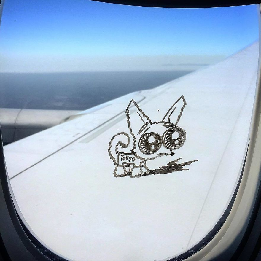I Do This Every Time I Get A Window Seat