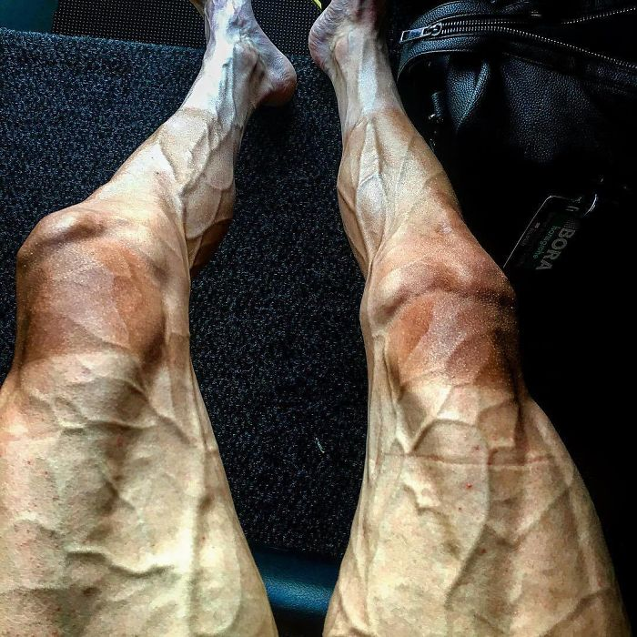 This Is How Cyclist's Legs Look Like After Tour De France