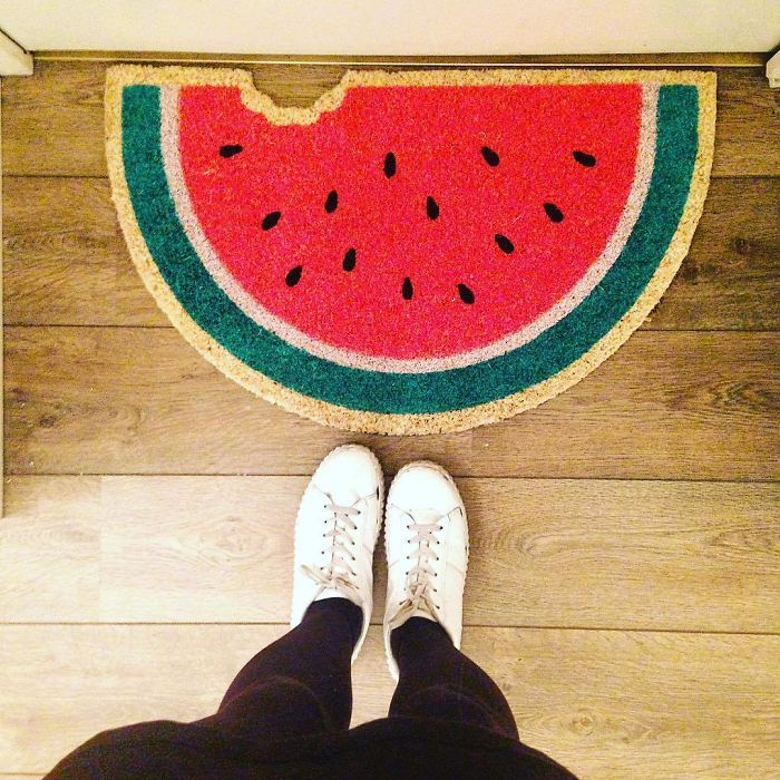 When I Realised I Needed A Doormat, What Else Could I Choose ? 🍉🍉🍉