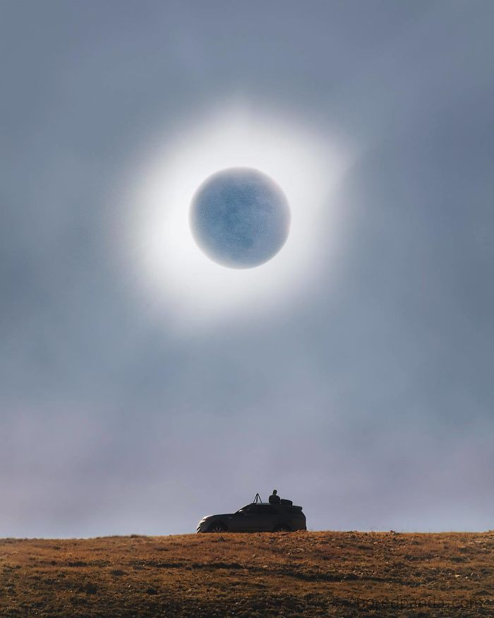 The Moment Of Totality. Experiencing My First Total Solar Eclipse In The High Country Of Idaho As I Partner With