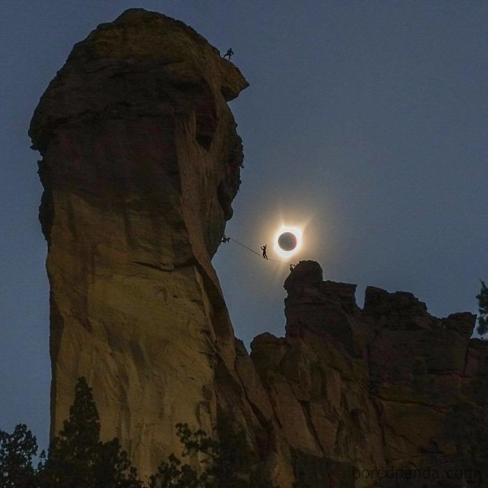 The Solar Eclipse's Totality Only Lasted For Minutes In The Path That It Occurred. Giving Photographers A Small Window Of Time To Capture Something Most Of Us Will Most Likely Never See Again