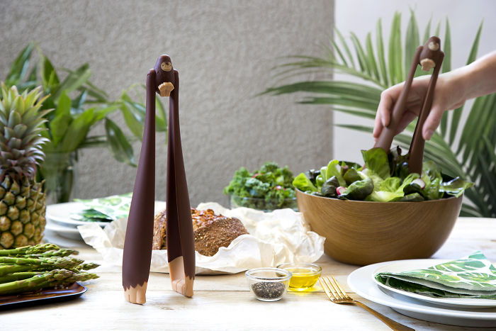 We Created Salad Tongs That Look Like Mighty Bigfoot And Stay Put On Your Table!