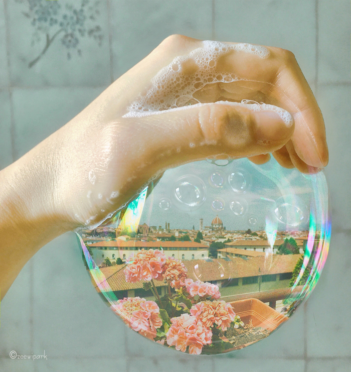 ===Tras una pompa de jabón=== Bubbles-and-flowers-allow-me-to-reproduce-the-moods-and-the-colours-I-see-or-want-to-see-598cc887c009b__700