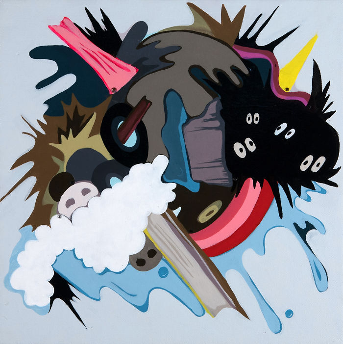 """Atlanta Based Contemporary Artist Sarah Emerson's Corey Helford Gallery Debut Exhibition, Titled """"ruin In Reverse,"""""""