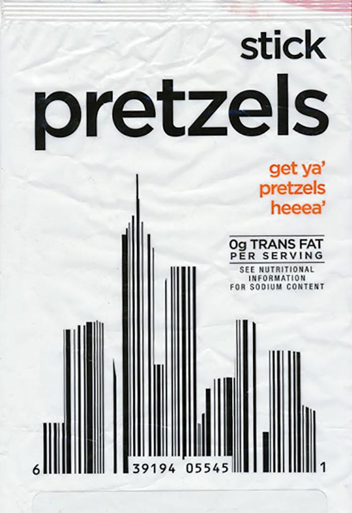 Cityscape - Pretzel Bag