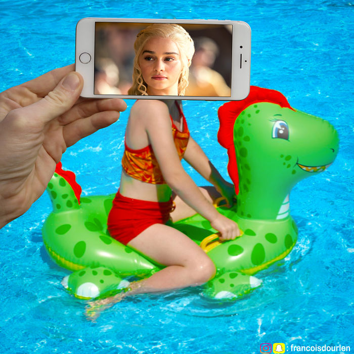 I Insert Game Of Thrones Characters Into Real Life Situations Using My iPhone