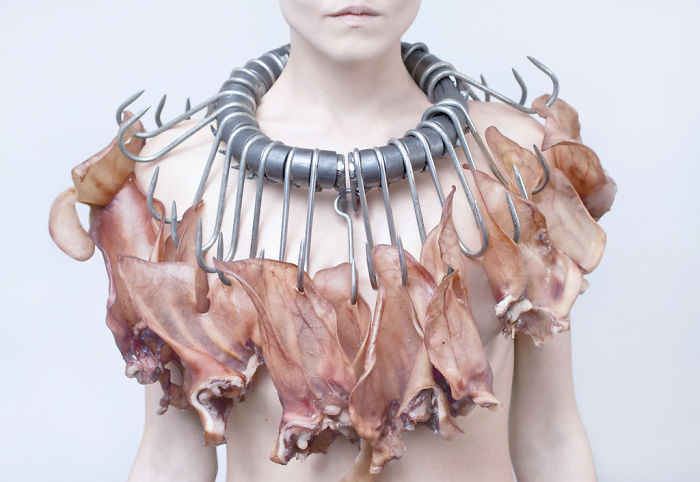 I Designed This Unwearable Jewelry To Make A Statement Against Factory Farming
