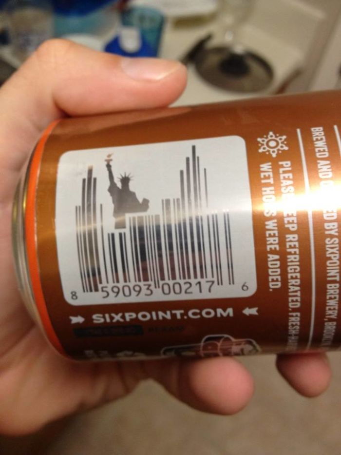 This Barcode Is The New York City Skyline