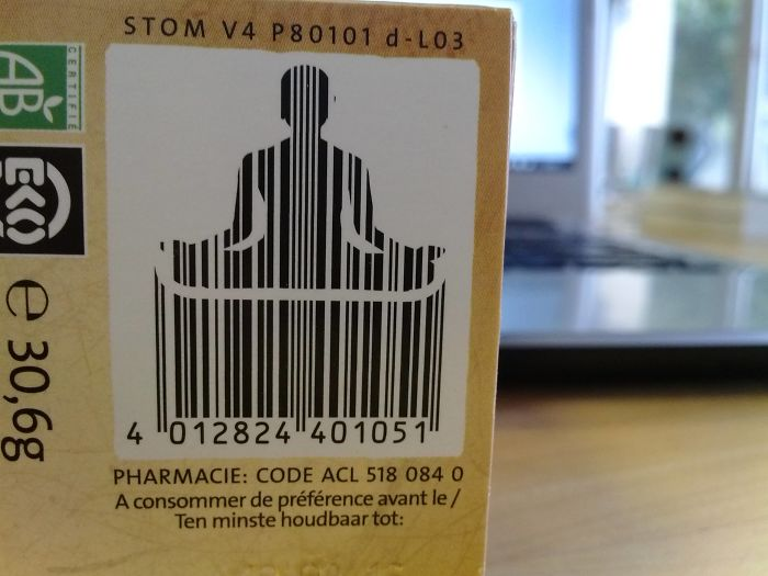 The Barcode On My Tea