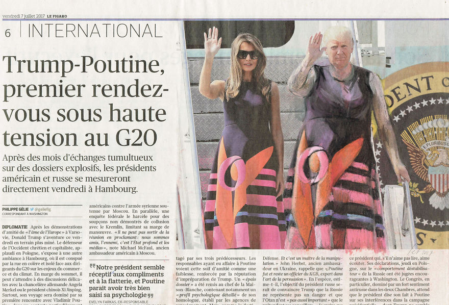 Synchronized Waving | Le Figaro | Series Part III
