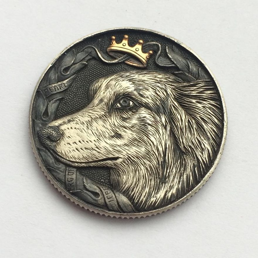 Extraordinary Coins Sculpted By Roman Booteen