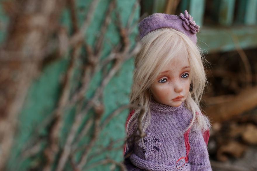 Impressive Unique Art Dolls By Helena Oplakanska