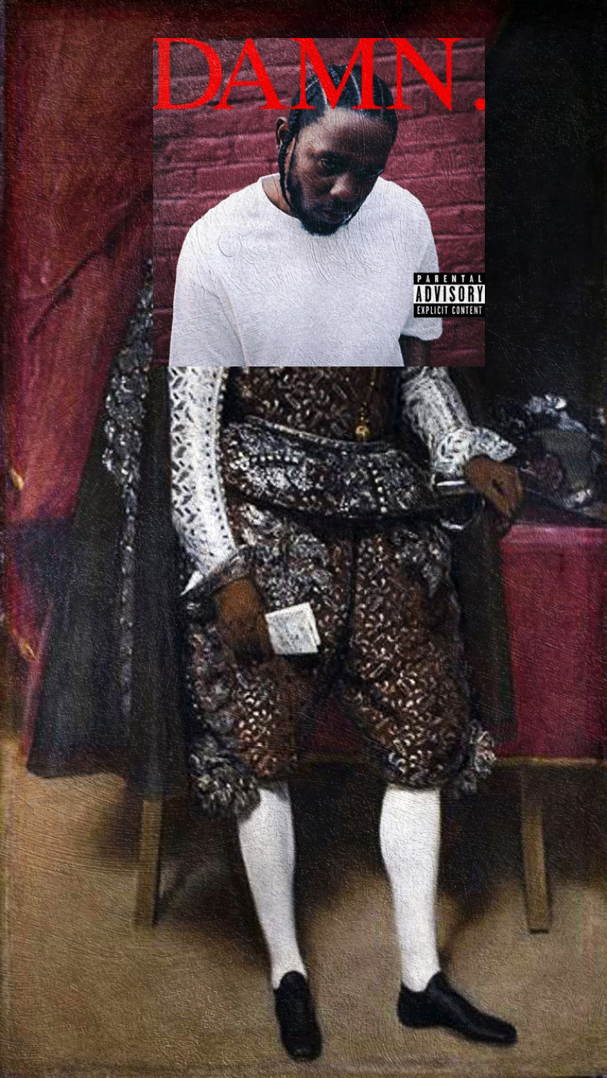 Damn. By Kendrick Lamar + Philip Iv Of Spain By Diego Velasquez