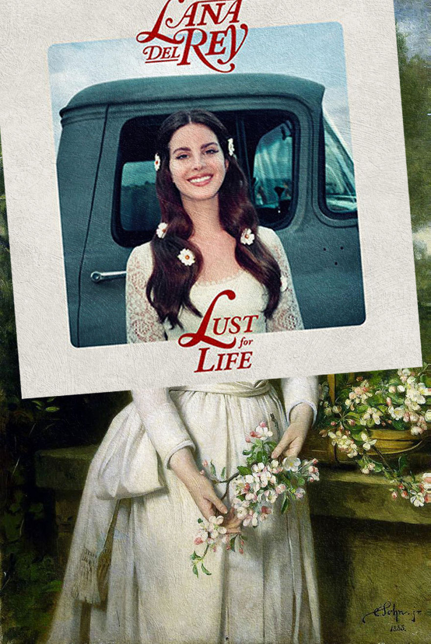 Lust For Life By Lana Del Rey + Portrait Of Grand Duchess Elizabeth Feodorovna By Karl Rudolf Sohn