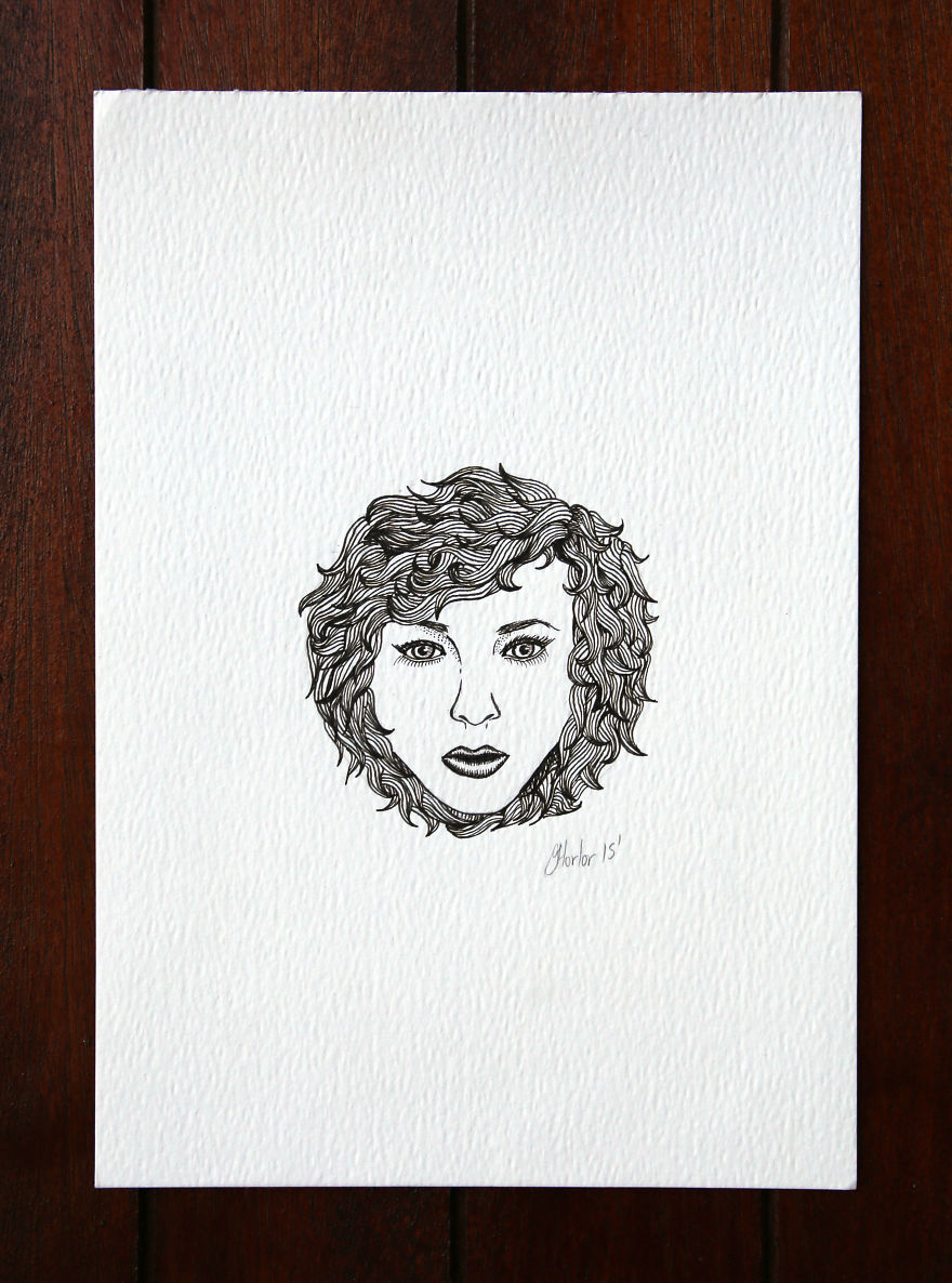 Curly Haired Lady Wonder