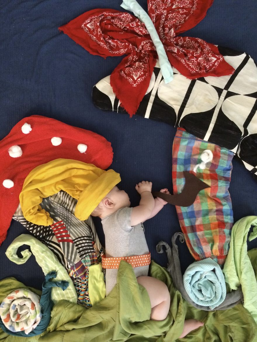 With The Help Of Household Items, I Like To Send My Son On Magical Adventures While He Sleeps