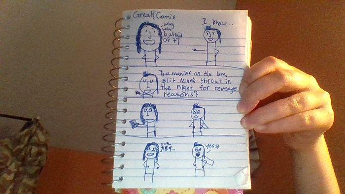 I'm 11 And I Make Comics