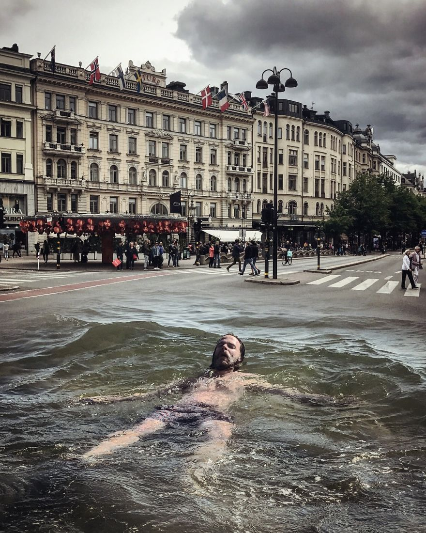 Swimming In The City!