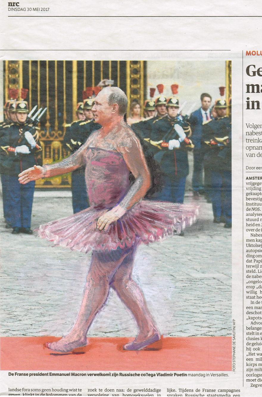 Coppelia | Putin In Versailles | NRC Handelsblad | Series Part II | Subseries Degas Revisited