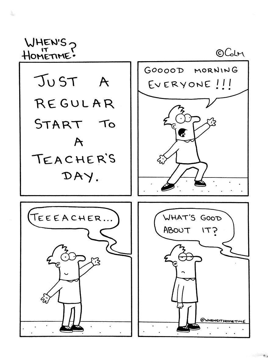 A Primary School Teacher Draws His Teaching Experience In Hilarious Comics!