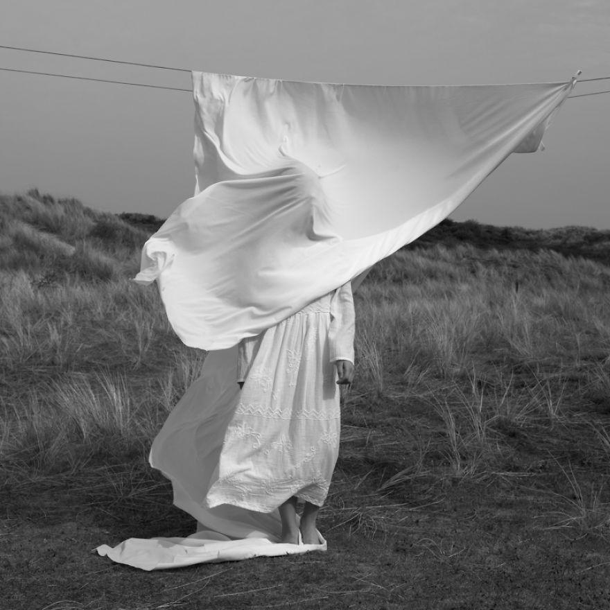 White Wind By Milou Krietemeijer-Dirks, The Netherlands (3rd Place In The Fine Art Category)