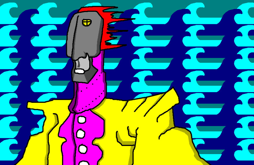 Ms Paint's Death Triggered Me To Dig Up The 250 Ms-paintings I Made As A 16yo Kid 13 Years Ago