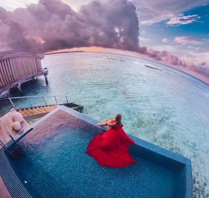 Finolhu, Maldivas. Modelo: Nastya