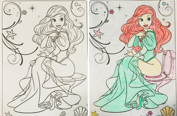 47 Times Adults Did Coloring Books For Kids, And The Result ...