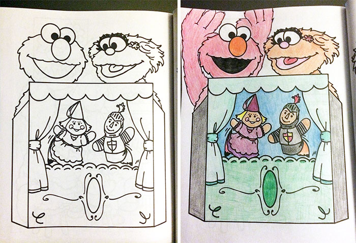 this is what happens when adults color drawings for children - Adults Coloring Books