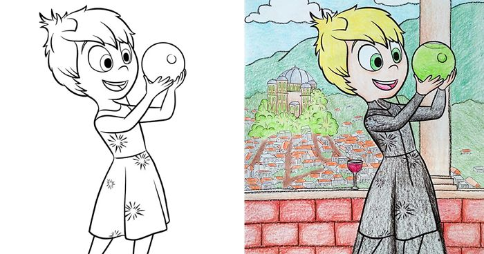 10 Times Adults Did Coloring Books For Kids And The Result Was