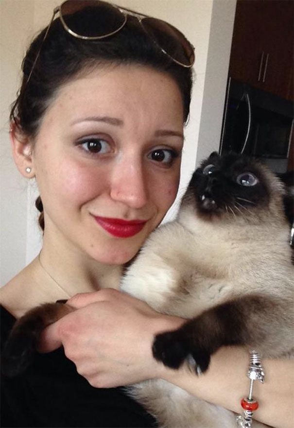 I Took A Selfie With My Cat