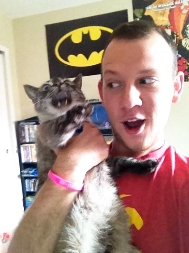 My Cat Hates Taking Selfies With Me