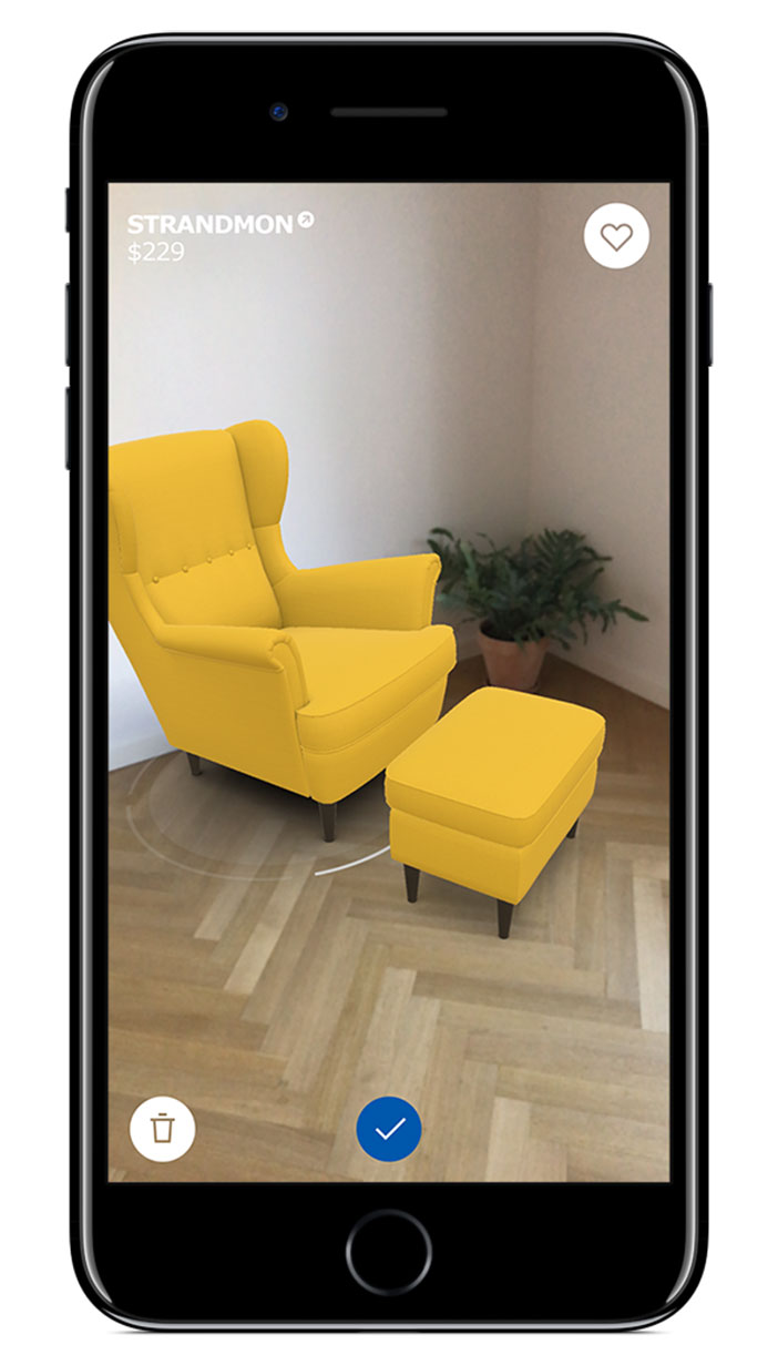 ikea launches new app that lets you try furniture in your home before buying it and here s how. Black Bedroom Furniture Sets. Home Design Ideas