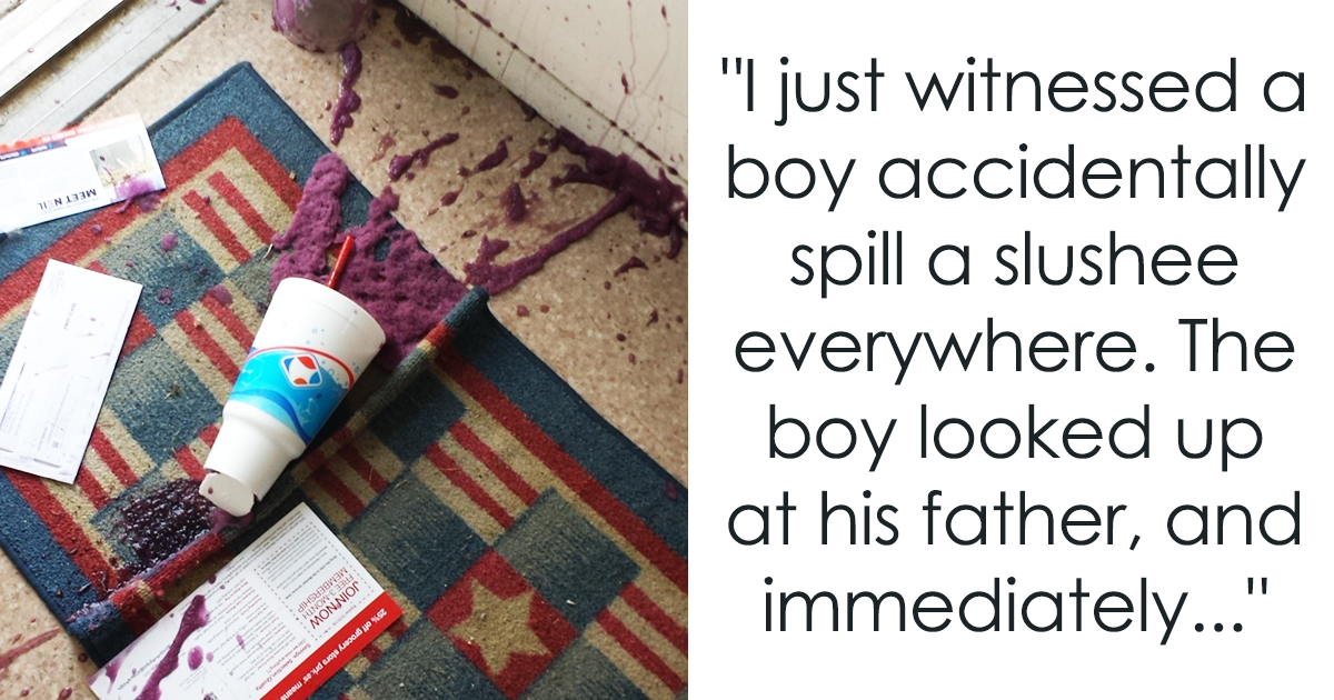 Little Boy Spills Slushie In Target, And His Dad Reacts In The Most Amazing Way (UPDATED)