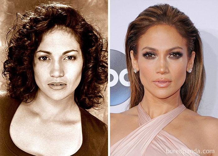 Jennifer Lopez trabajó en una oficina de abogados