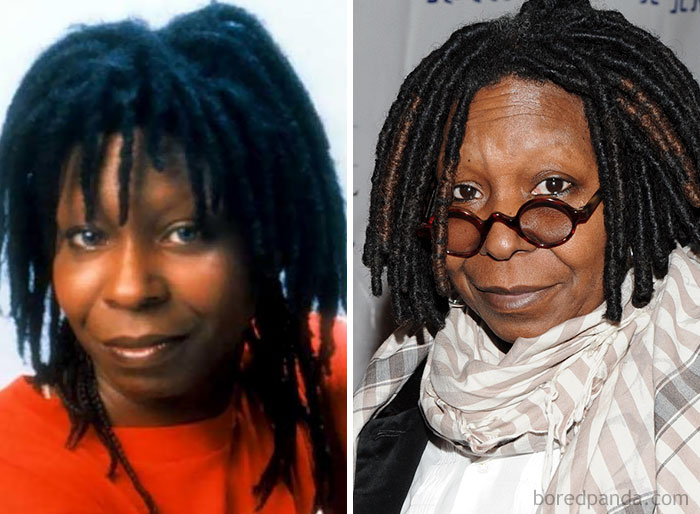 Whoopi Goldberg era embellecedora de cadáveres