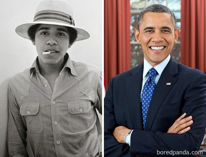 Barack Obama trabajaba en una heladería