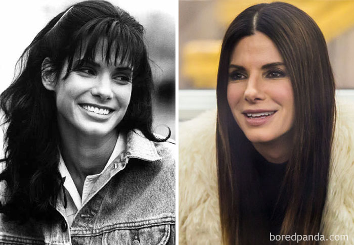 Sandra Bullock Worked As A Bartender And Waitress At A Restaurant In Manhattan