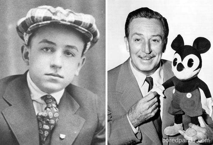 Walt Disney era repartidor de periódicos